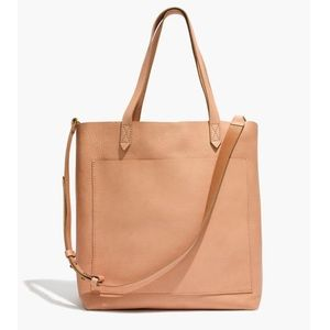NWT MADEWELL THE MEDIUM TRANSPORT TOTE: LINEN